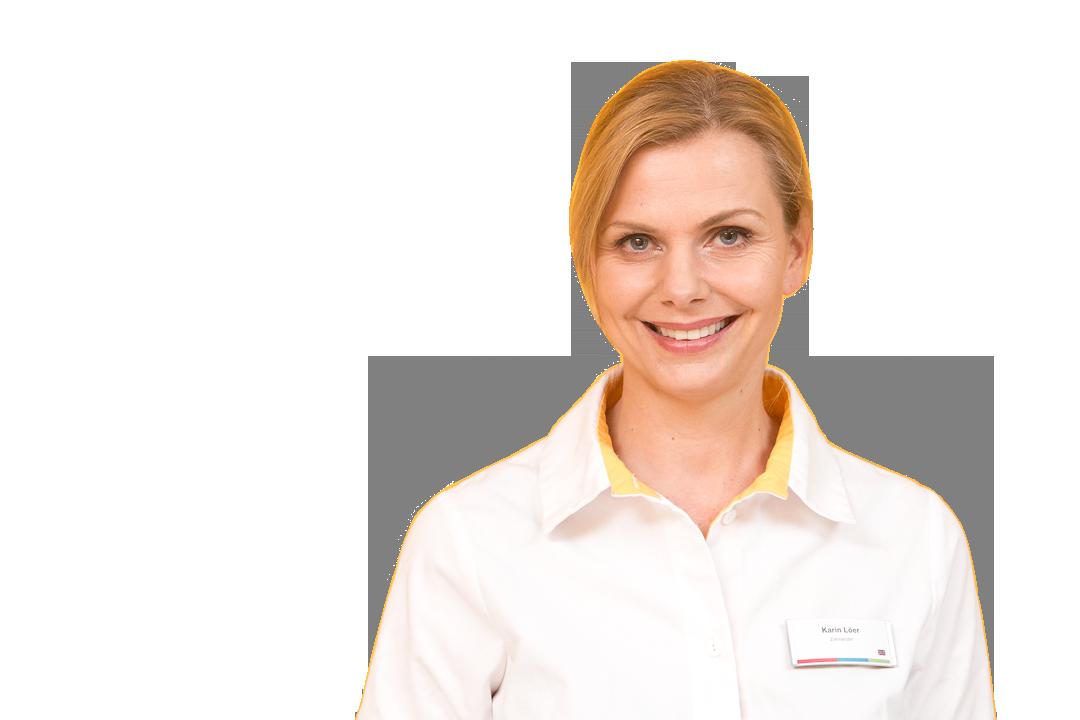 Zahnärztin für ästhetitsche Zahnheilkunde Karin Löer