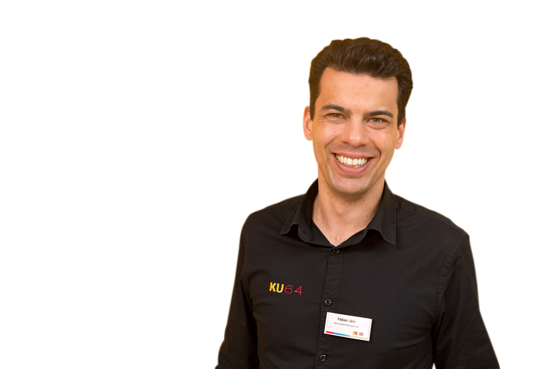 Fabian Jain Key Account Manager und Customer Relations Manager