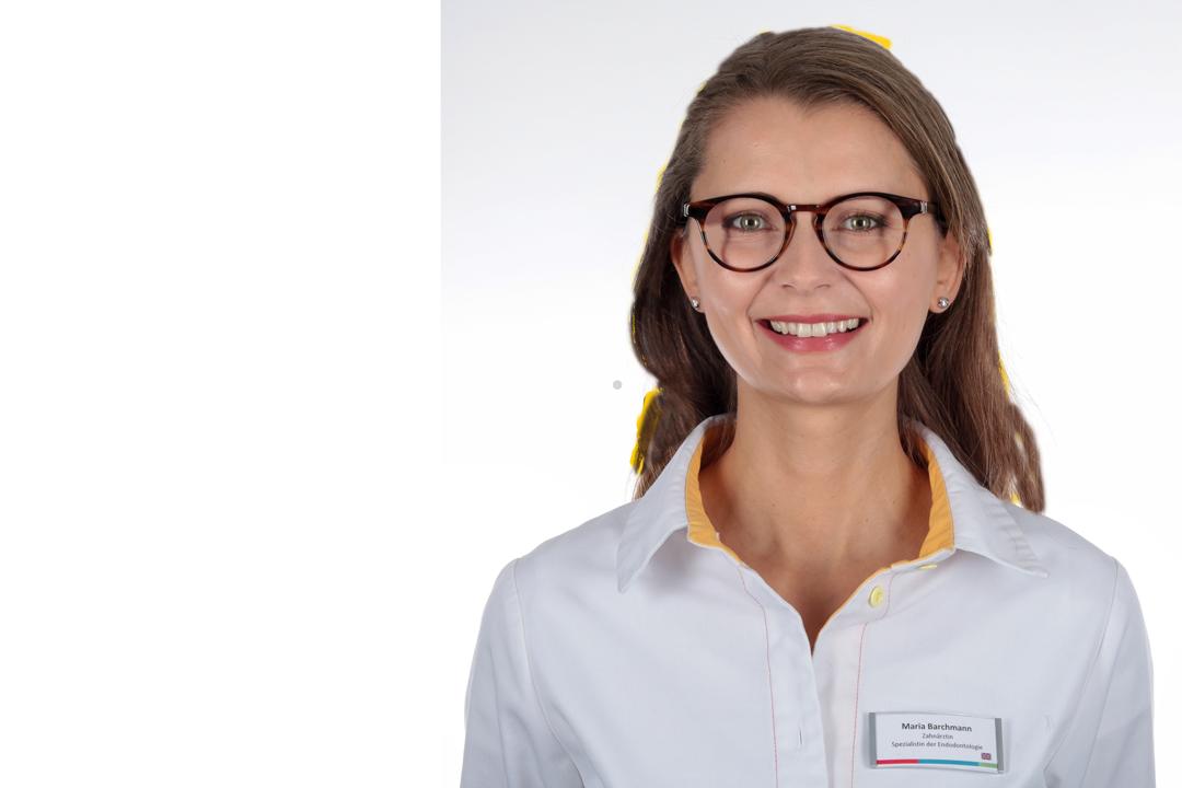 Maria Barchmann Zahnärztin mit Tätigkeitsschwerpunkt Wurzelkanalbehandlung Endodontie