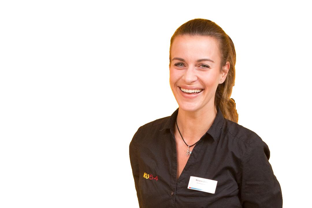 Dentalhygienikerin Melanie Zettel