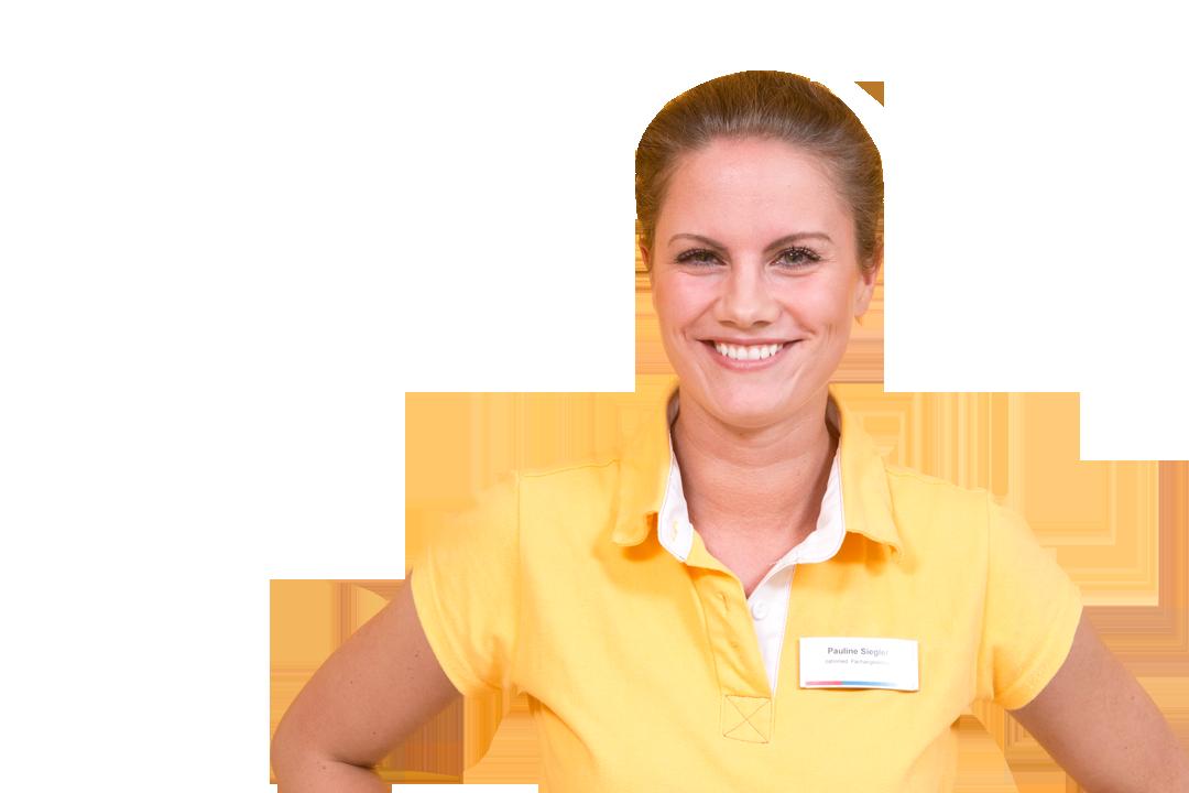 Zahnmedizinische Fachangestellte Pauline Siegler