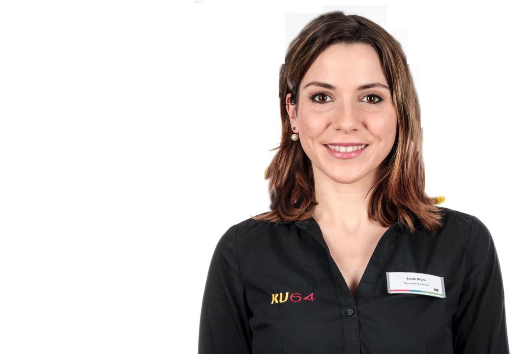 Sarah Blum Empfang und Patientenbetreuung