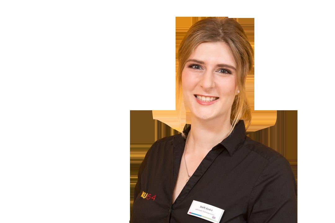 Stefanie Andrä zahnmedizinische Fachangestellte und Kinderprophylaxe