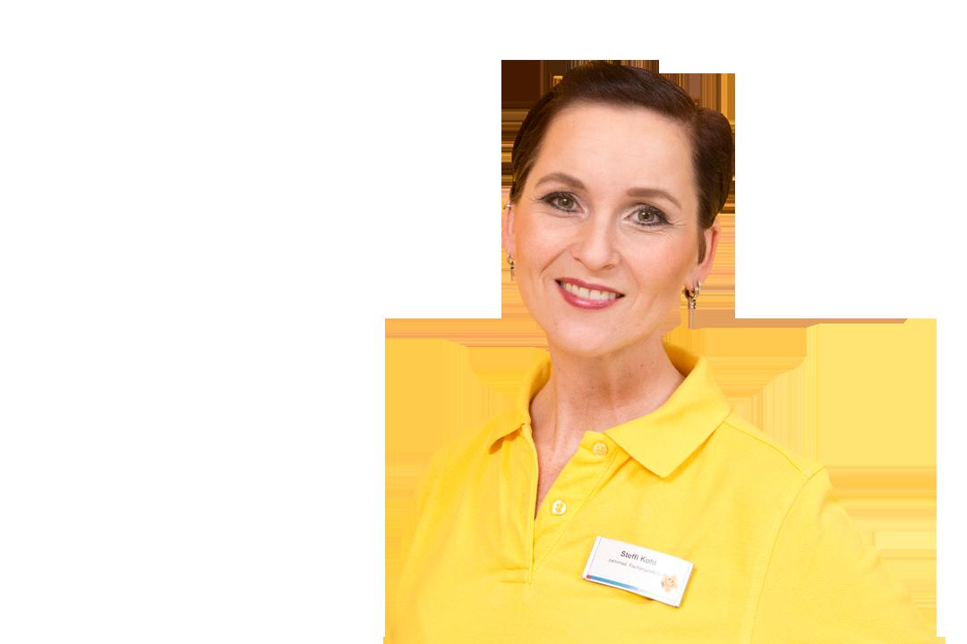 Zahnmedizinische Assistentin Steffi Kohl