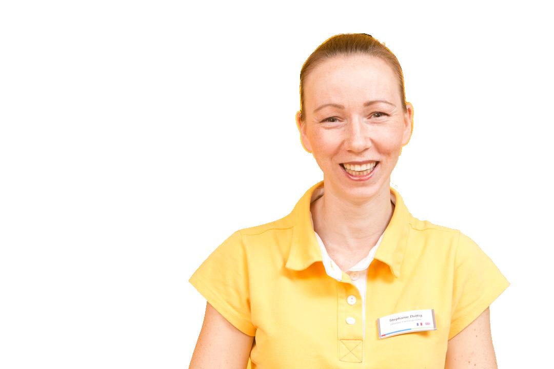 Stephanie Duttig zahnmedizinische Fachangestellte