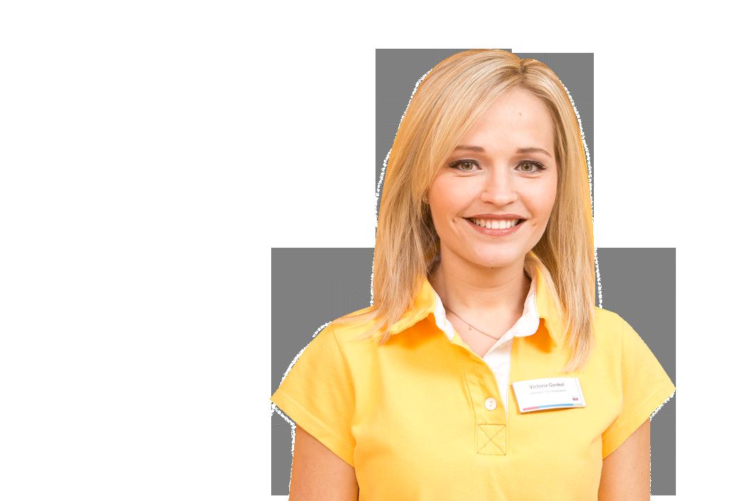 Zahnmedizinische Assistentin Viktoria Genkel