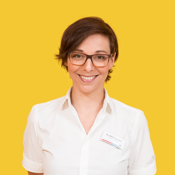 Dr. Sabine Gousetis, Spezialistin für Endodontologie der DGET